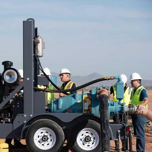 Hevvy Toyo Diesel-Powered Mobile Slurry Pumps