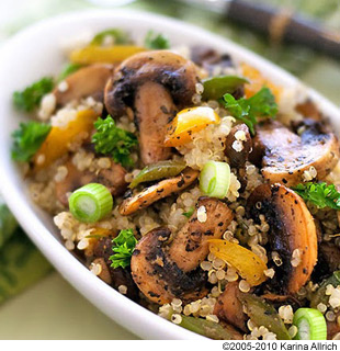Mushroom And Broccoli Pilaf Recipes — Dishmaps