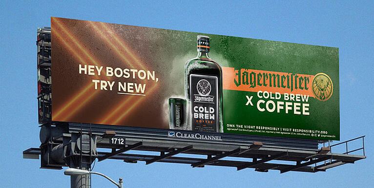 Jagermeister DOOH Data-Driven Marketing Vistar Media Programmatic