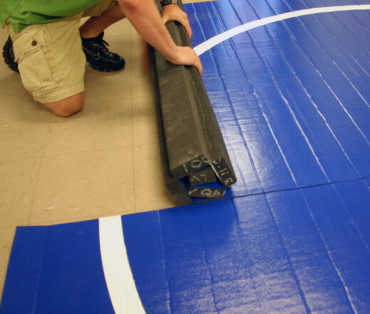 LiteWeight Home-Use Wrestling Mat