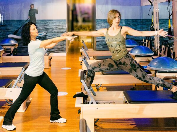 Pilates Meets Pickleball - The Secrets of Combining Your Skills on the Reformer and the Court