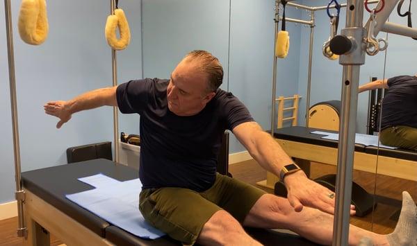 Retired Veteran Beats Back Pain With Pilates