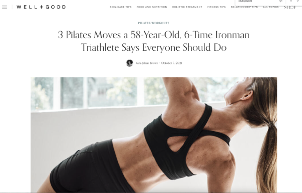 3 Pilates Moves a 58-Year-Old, 6-Time Ironman Triathlete Says Everyone Should Do