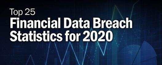 Top 25 Financial Data Breach Statistics for 2020