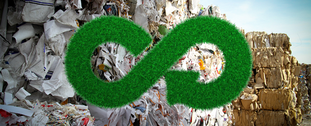 How will the circular economy policy align with waste management?