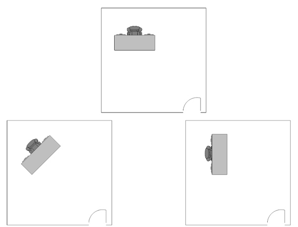 office desk floor plans
