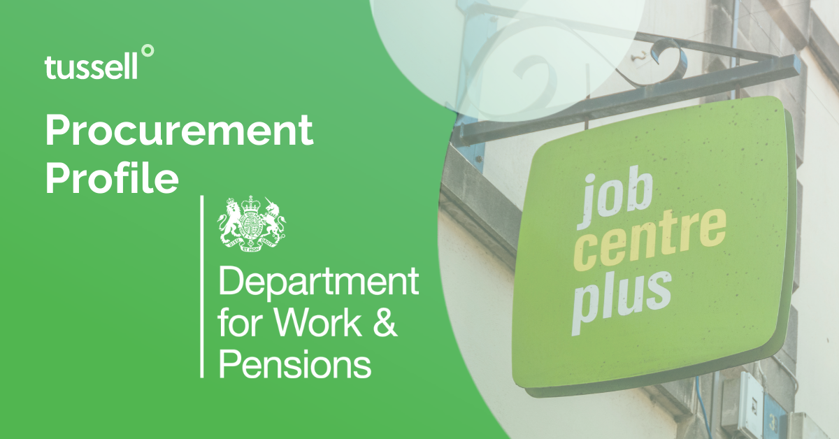 Procurement Profile: Department for Work and Pensions