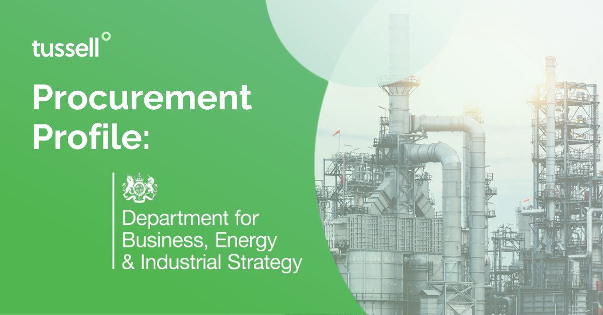 Procurement Profile: Department for Business, Energy & Industrial Strategy