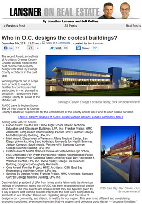Best building design in Orange County