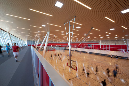 Cal State Northridge Recreation Center Ceiling