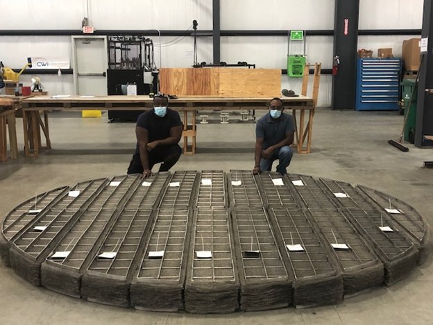 No Demister Pad Is Too Large For Central Wire Industries