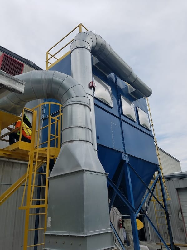 How Does a Baghouse Dust Collector Work?