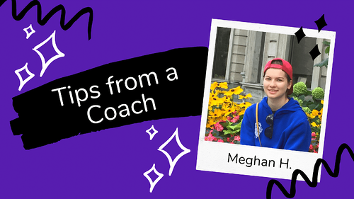 Coding is Creative: Tips from a Coach