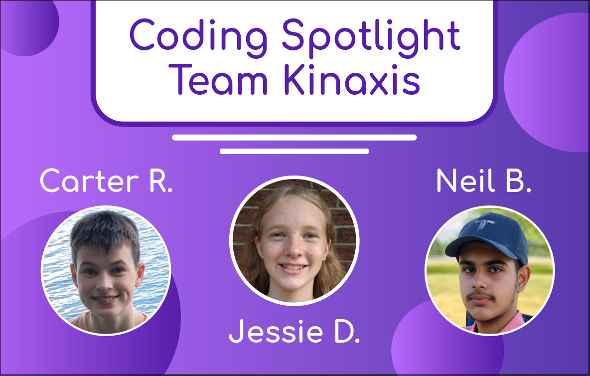 Meet Team Kinaxis - Carter, Jessie and Neil!