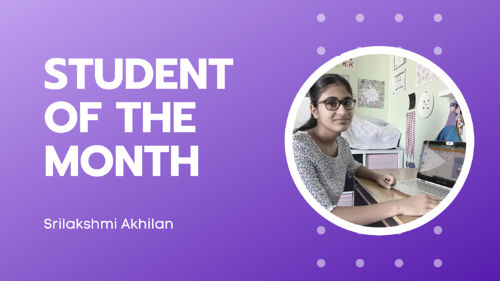 Meet Sri - Our Hatch Student of the Month