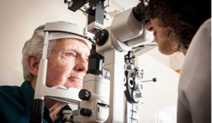 Checking for cataracts