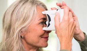 Home glaucoma IOP test