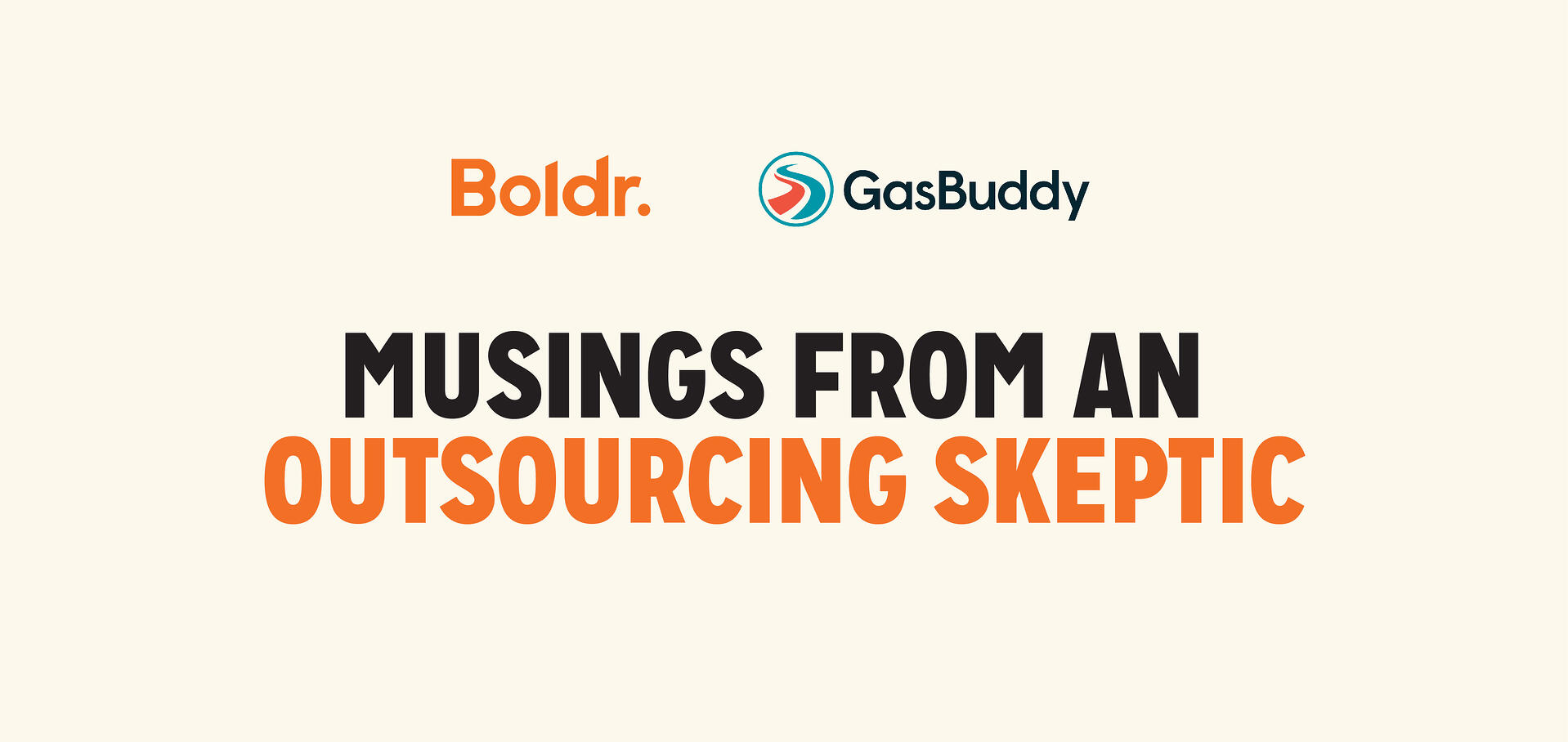 Client Story: GasBuddy—Musings from an Outsourcing Skeptic