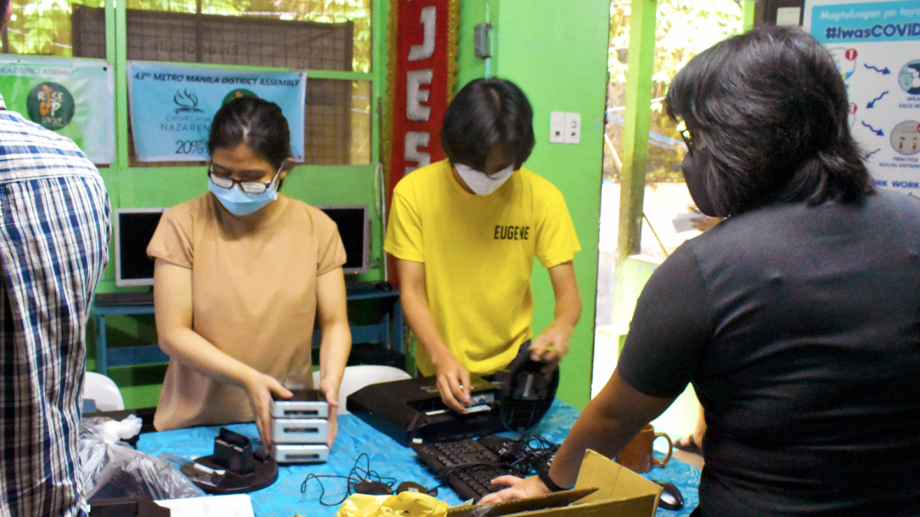 Boldr Computers Find New Home in Taytay Community