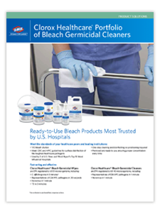 Clorox Bleach Product Portfolio