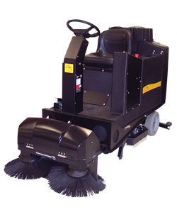 NSS Whisker Vacuumized Pre-Sweep for Champ Ride-On Scrubbers