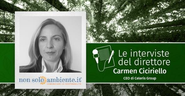 Le interviste del Direttore: Carmen Ciciriello
