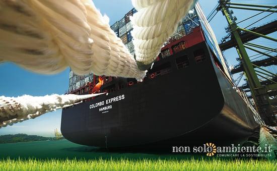 DHL GoGreen, spedizioni in mare a impatto zero nel 2050