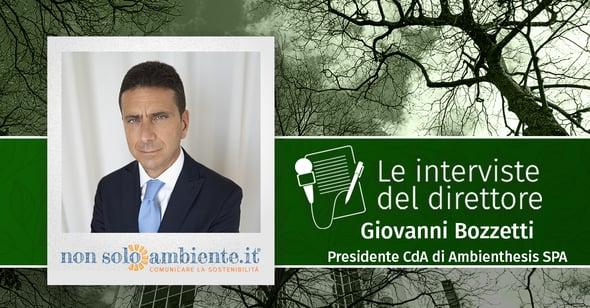 Le interviste del Direttore: Giovanni Bozzetti