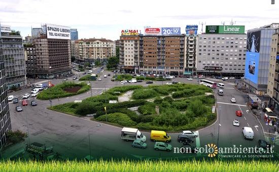 Milano: Piazzale Loreto diventa green