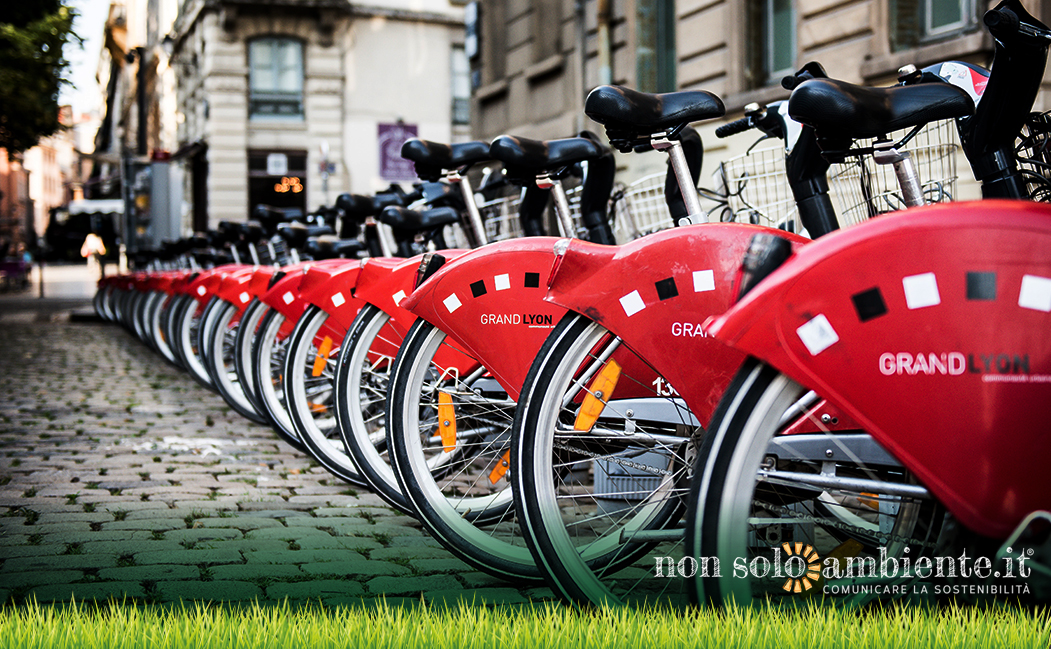 Sharing mobility, in Italia è boom per il bike sharing