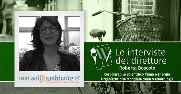 Le interviste del Direttore: Roberta Boscolo