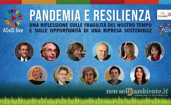 Pandemia e Resilienza: come uscire dalla crisi per una vita sostenibile