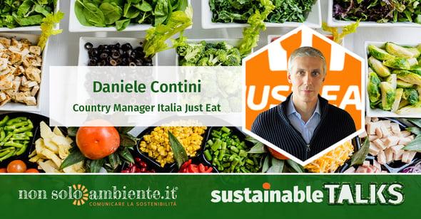 #SustainableTalks: Daniele Contini di Just Eat