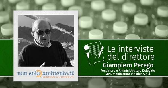 Le interviste del Direttore: Giampiero Perego