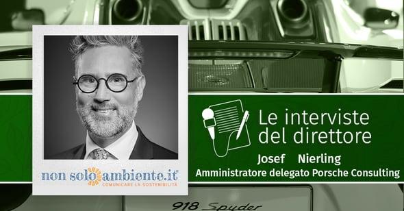 Le interviste del Direttore: Josef Nierling