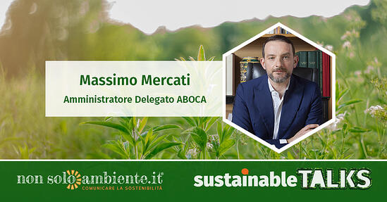 #SustainableTalks: Massimo Mercati di Aboca