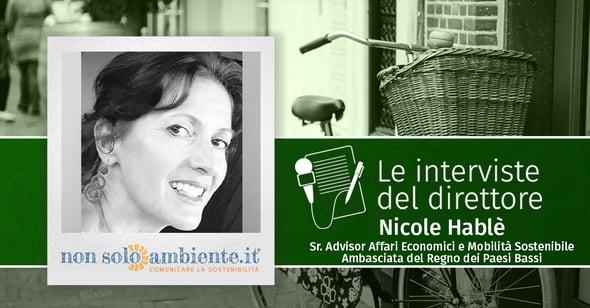 Le interviste del Direttore: Nicole Hablé