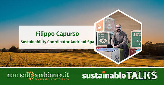 #SustainableTalks: Filippo Capurso di Andriani Spa