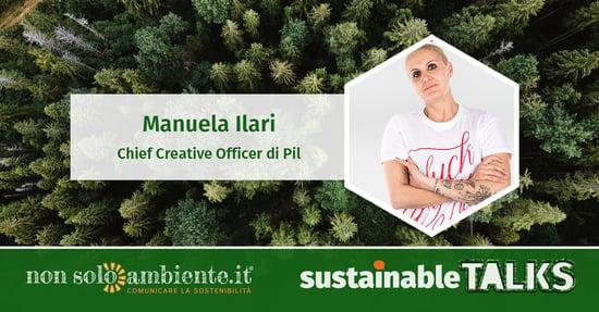 #SustainableTalks: Manuela Ilari di Ecopil