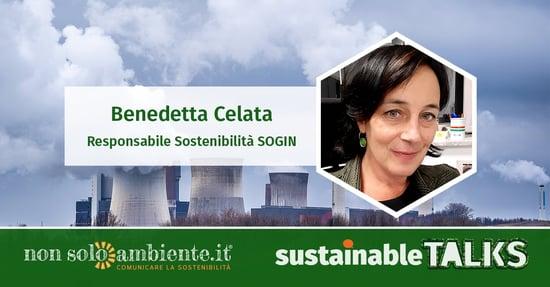 #SustainableTalks: Benedetta Celata di SOGIN