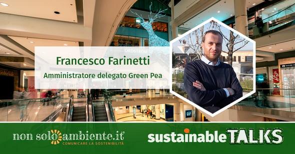 #SustainableTalks: Francesco Farinetti di Green Pea