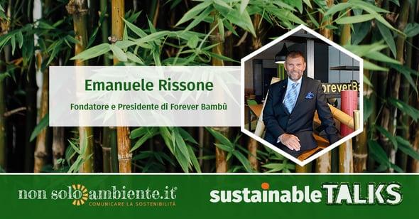 #SustainableTalks: Forever Bambù
