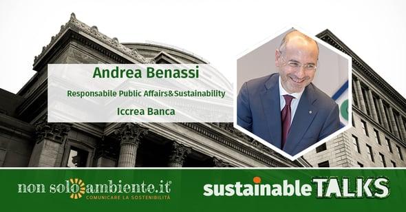#SustainableTalks: Andrea Benassi di Iccrea Banca