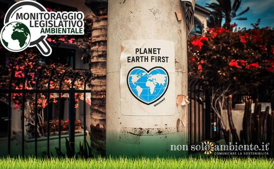 Disegno di legge Terra Mia: nuove misure a tutela dell'ambiente