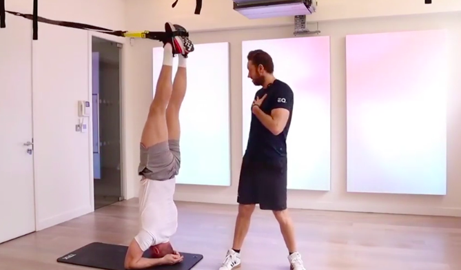 TRX INVERSIONS: LEARN THE MOVE