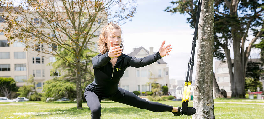 BALANCING YOUR HEADSTAND WITH TRX