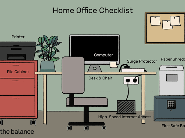 Must-Have Home Office Amenities
