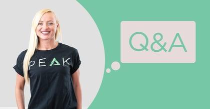 Peak Support Q&A: Lana Charlton