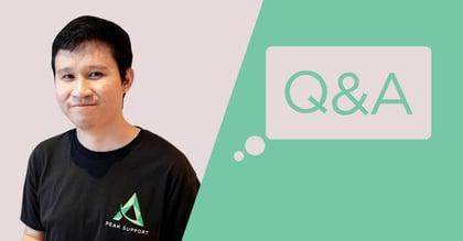 Peak Support Q&A: Marlou Abalona