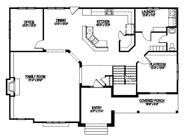 Custom home building and design blog home building tips Man cave basement floor plans